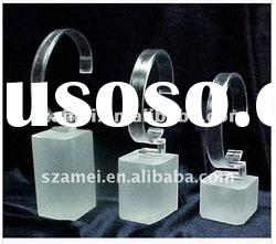 2012NEW HOT SALE acrylic rotating watch display