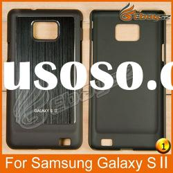 PY-Hot Selling Wiredrawing Hard Back Case Cover For Samsung Galaxy S 2 LF-0454