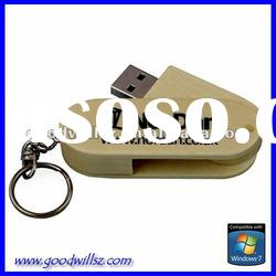 Sustainable material usb flash drive 8gb with logo