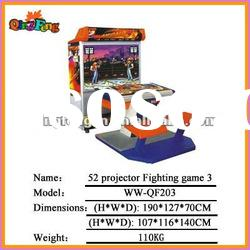 Video game machine Video game machine WW-QF023 52 projector Fighting game