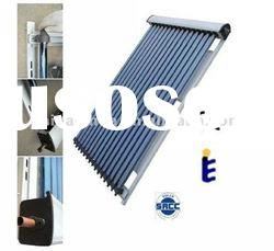 Heat pipe pressurized wide application solar thermal collector system