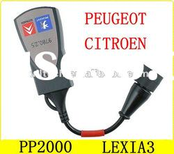 PP2000/Lexia-3 Citroen/Peugeot Diagnostic car tool with high quality