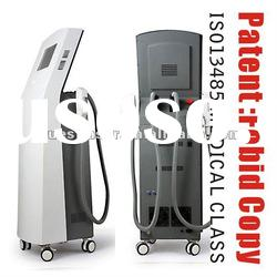 Vertical Salon Use IPL Hair Removal Machine Painless and permanant