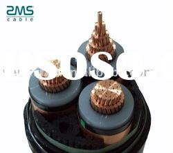 high voltage XLPE insulation power cable with armour