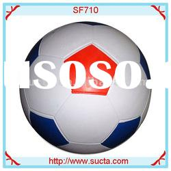 Shiny and good quality rubber soccer ball