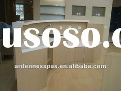 Restaurant Reception Desk Acrylic Solid Surface