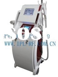 Elight ipl 2 in 1 beauty salon equipment for hair removal ND YAG and e-light spa beauty equipment