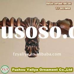 Decorative antique curtain rod(YLY-0051WRR)