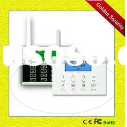 GS-G80DE Touch keypad GSM alarm system support Low-voltage alerts for alarm sensors