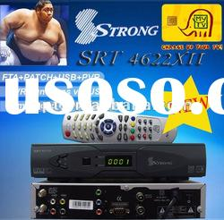 Support Digital Set Top Box Tv Receiver Strong 4653x in Middle East/Africa