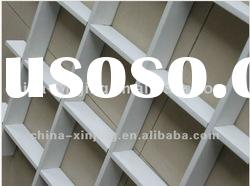 decorative aluminum false suspended ceiling/open cell ceiling/grid ceiling
