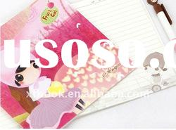 soft cover exercise book withcute design