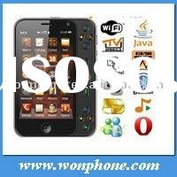 3.6 Inch Touch Screen T8200 Dual SIM Mobile Phone with WIFI TV Java