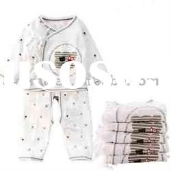 Baby long sleeve cotton rompers