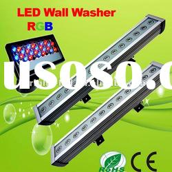 RGB LED wall washer DMX Square LED waterproof