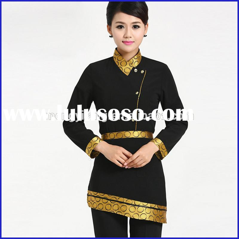 Hotel staff uniform/hotel uniform design/hotel receptionist uniforms