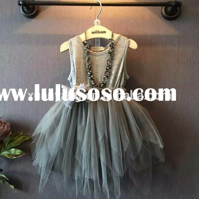 2015 party frocks for girls designer one piece party dress