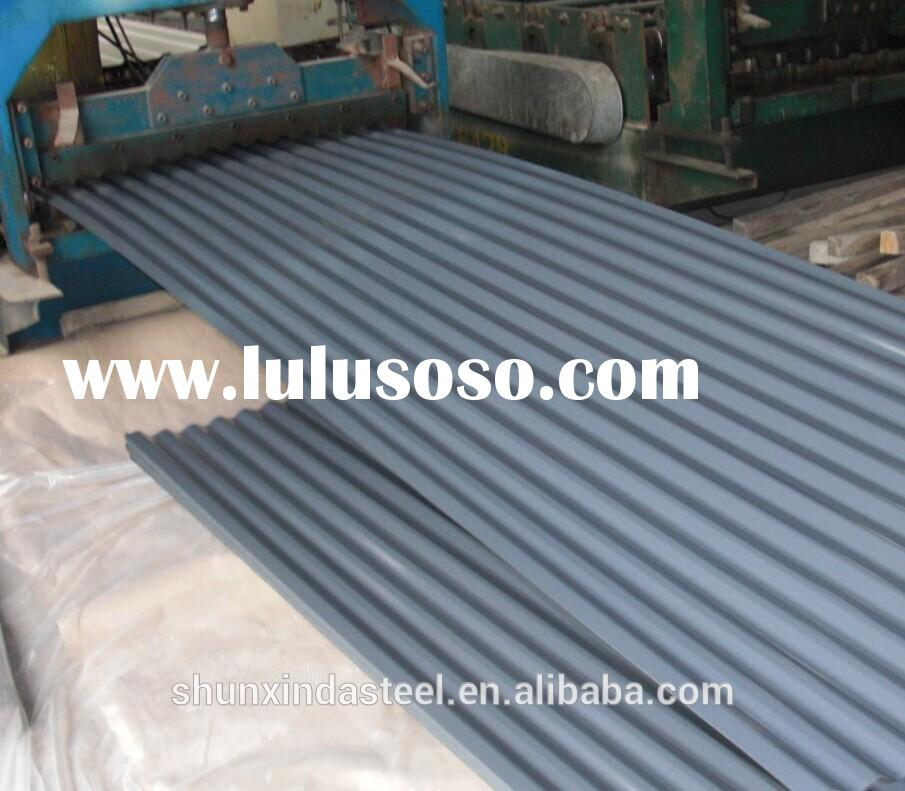 Hot selling color galvanized steel roof sheet with low price/ color coated metal roofing sheet