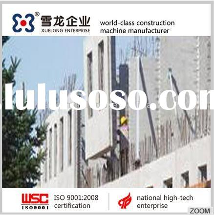 Concrete decorate fence wall steel molds for sale