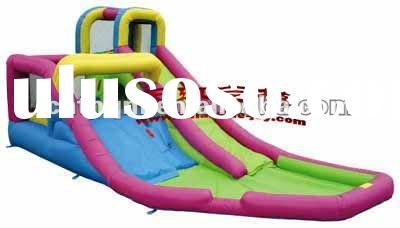 giant inflatable kids bouncer slide with pool,air combo