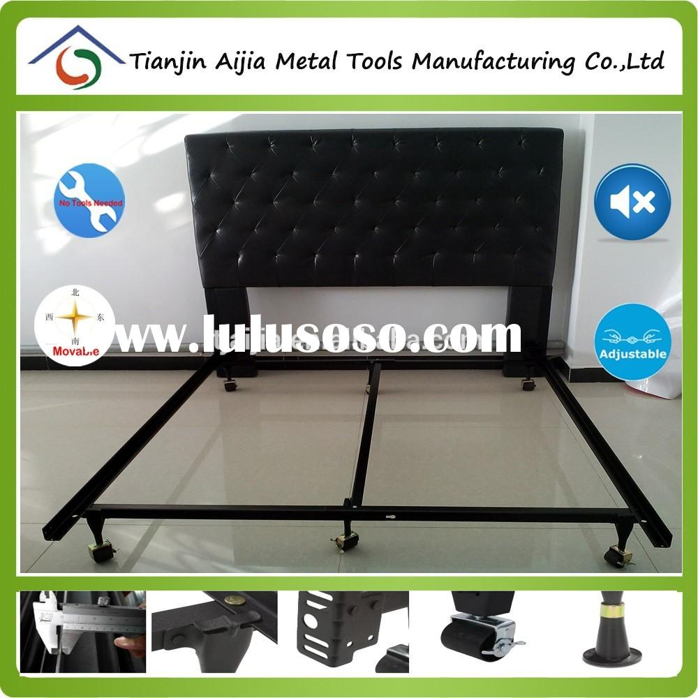 twin full queen size metal bed frame with double centre