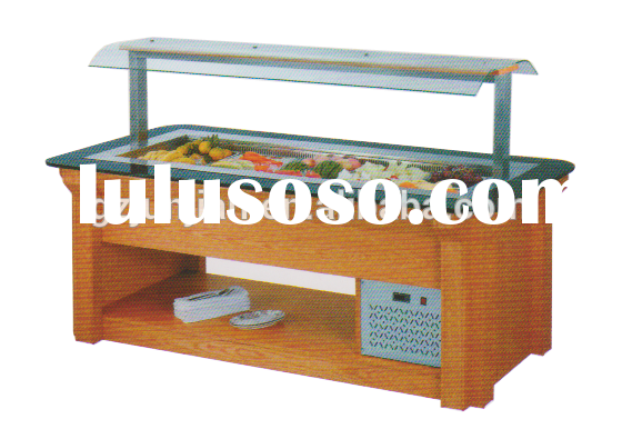 used restaurant equipment for sale/ salad Bar/Commercial Bartable top refrigerated salad bar