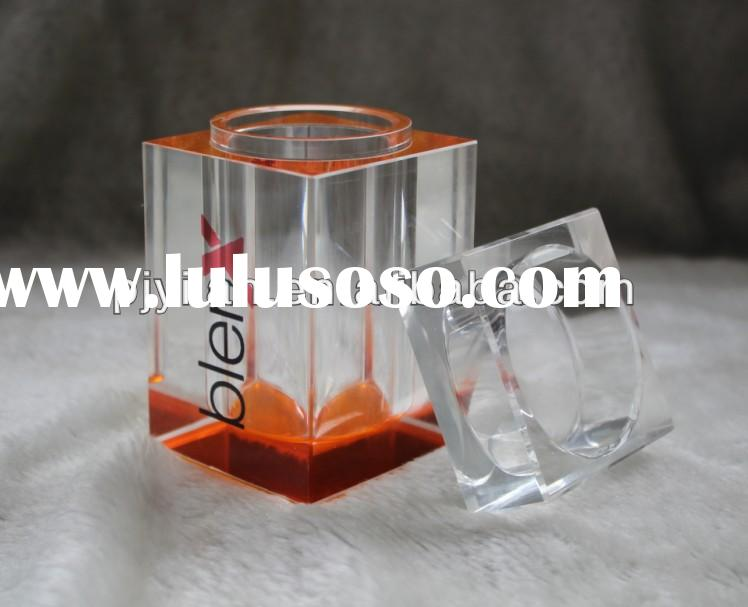 clear rectangular toothpick holder crystal glass dinner set