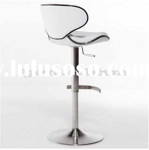 Modern White Swivel Bar Stool